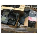 LOT OF COMMUNICATION MONITORS DIGITAL MOBILE