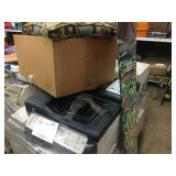 LOT OF HP PRINT CENTERS & SNOWBOARD