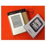 1 BAG WITH AMAZON KINDLE & NOOK TOUCH READER