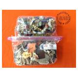 2 BAGS OF MISC. JEWELRY