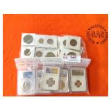 2 BAGS OF MISC. COLLECTIBLE COINS