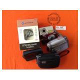 1 BAG OF MISC. ITEMS: MOTOROLLA H700 BLUETOOTH SET