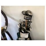 GOLF CLUBS AND GOLF BAG