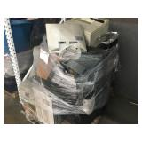 1 PALLET OF MONITORS AND PRINTERS