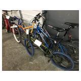 2 MOUNTAIN BIKES AND 1 BMX BIKE