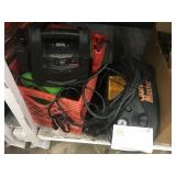 2 PORTABLE JUMPER CABLES AND HIGH POWER PRESSURE