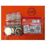 3 BAGS OF MISC. COLLECTIBLE COINS