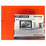 DP VIDEO MONITOR DP650MP  6.5 DIGITAL TOUCH SCREEN