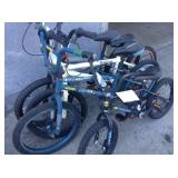 1 LOT OF 4 BMX BIKES
