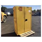 SAFETY STORAGE CABINET FOR FLAMMABLE LIQUIDS (INSI