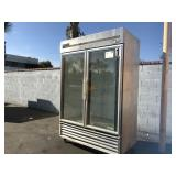 TRUE T-49G COMMERCIAL REACH-IN REFRIGERATOR/ AND O