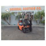 TOYOTA 7FGCU20 LOW PROFILE FORKLIFT 3,400 LB CAPAC