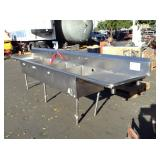 1 COMMERCIAL STAINLESS STEEL SINK