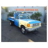 1990 FORD  F-350 DUMP BED