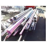1 LOT OF PVC PIPE