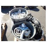 1 PALLET OF PVC CONNECTORS & IRRIGATION TOOLS  PVC