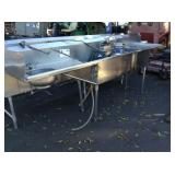 STAINLESS STEEL SINK & GARBAGE DISPOSAL ISE SINK E