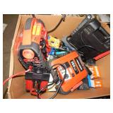 1 BOX OF PORTABLE JUMPER CABLES & TOOLS
