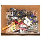 1 BOX OF HAND TOOLS