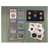 2 BAGS MISC COLLECTABLE COINS