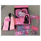 1 BAG WITH MISC HELLO KITTTY