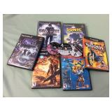 1 BAG WITH PLAYSTATION 2 CONSOLE GAMES
