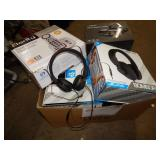 1 BOX OF ELECTRONICS CLARITY SPEAKERPHONE, BOMBORA