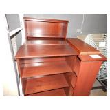 1 LOT OF CHERRY WOOD SHELVES