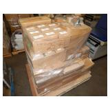 1 PALLET OF ELECTRICAL CONDUIT HARDWARE POKE THRU