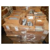 1 PALLET OF ELECTRICAL CONDUIT HARDWARE