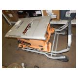 RIDGID MOBILE TABLE SAW