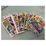 1 BAG WITH COMIC BOOKS