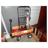 RADIO FLYER WAGON W/ STROLLER AND CART