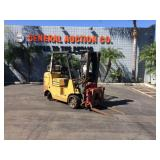 3 STAGE CATERPILLAR GC40K1 FORKLIFT WITH ROTATING