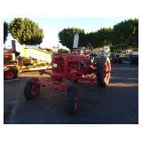 FARMALL  TRACTOR  1947 H MODEL (RED) GASOLINE