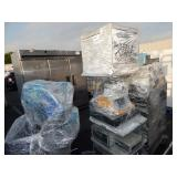 1 LOT OF MEDICAL EQUIPMENT OLYMPUS COLOR VIDEO MON