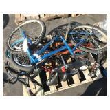 1 PALLET OF 2 MOUNTAIN BIKES & 2 BMX BIKES