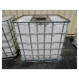 1250~ LITER TOTE TANK WITH METAL CAGE