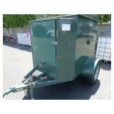 TOWABLE TRAILER WITH LP SMOKER    VIN: CA718061