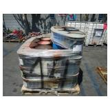 PALLET WITH THREADTEX,RPM GREASE SR12,AND  CHEVRON