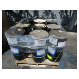 PALLET OF 9 CONOCO HYDRAULIC FLUID DRUMS