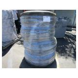 PALLET OF FOUR USED BFGOODYEAR FARM TRACTOR TIRES.