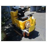 CAT 350 RIDABLE FLOOR CLEANER, NEEDS BATTERIES (4)
