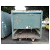16 FOOT STORAGE CONTAINER (GREEN)
