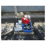PALLET OF METERS, ELECTRONIC COMPONENTS, MISCELLAN
