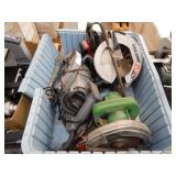 SKILLSAW ASSORTED POWER TOOLS