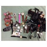 1 BAG WITH WATCHES