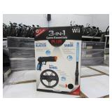 GAMING ACCESSORIES  PALLET OF 3 IN 1 WII GAME ESSE