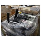 HP  KEYBOARDS AND ASSORTED ELECTRONIC EQUIPMENT