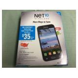 1 SAMSUNG 4GLTE NET10 WIRELESS CELL PHONE